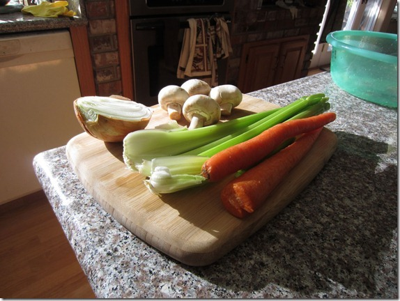 Leftover Turkey Soup Recipe 011