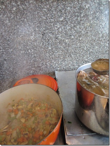 Leftover Turkey Soup Recipe 022