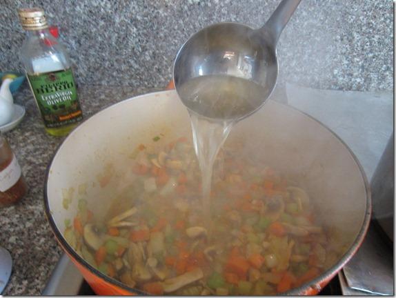 Leftover Turkey Soup Recipe 024