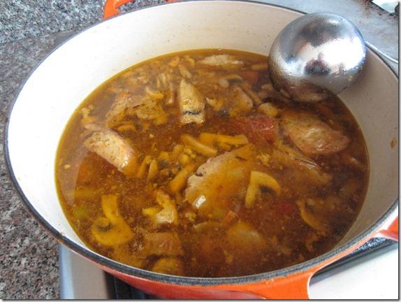 Leftover Turkey Soup Recipe 032