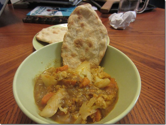 Baka Yam Curry Naan Cook and Geek Recipe 001